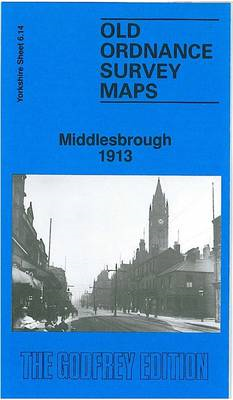 Central Middlesbrough 1913: Yorkshire Sheet 6.14 (BOK)