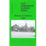 Shipley and Saltaire 1906: Yorkshire Sheet 201.11 (BOK)