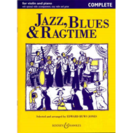 Jazz, Blues & Ragtime (BOK)
