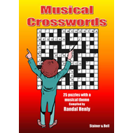 Musical Crosswords: 25 Puzzles with a Musical Theme (BOK)