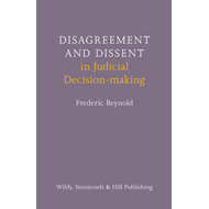 Disagreement and Dissent in Judicial Decision-making (BOK)