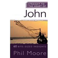 Straight to the Heart of John: 60 Bite-sized Insights (BOK)