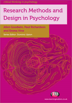 Research Methods and Design in Psychology (BOK)