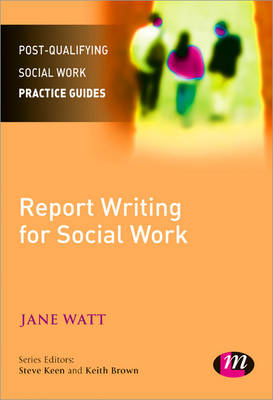 Report Writing for Social Workers (BOK)
