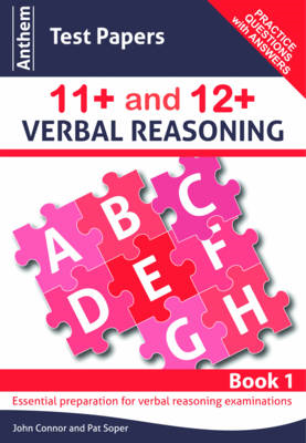 Anthem Test Papers 11+ and 12+ Verbal Reasoning Book 1 (BOK)