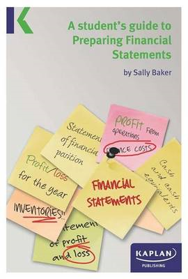 Students Guide to Preparing Financial Statements (BOK)