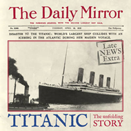 Titanic: The Unfolding Story as Told by the Daily Mirror (BOK)