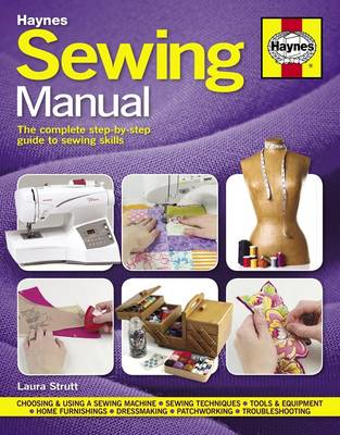 Sewing Manual: The Complete Step-by-step Guide to Sewing Skills (BOK)