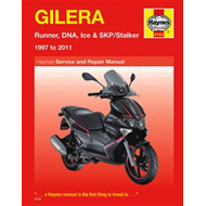 Gilera Runner, DNA, Ice & SKP/Stalker Service and Repair Manual: 1997 to 2011 (BOK)