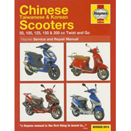 Chinese, Taiwanese & Korean Scooters Service and Repair Manu (BOK)