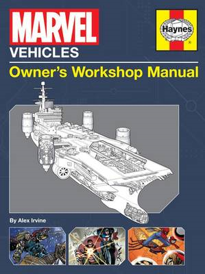 Marvel Vehicles Owner's Workshop Manual (BOK)