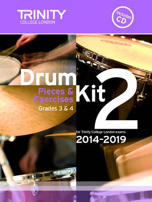 Drum Kit 2014-2019 Book 2 Grades 3 & 4 (BOK)
