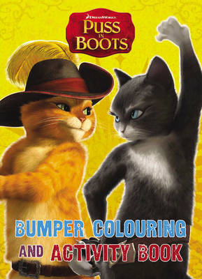 Puss in Boots: Bumper Colouring & Activity Book (BOK)