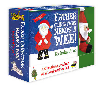 Father Christmas Needs a Wee: Book and Toy Set (BOK)
