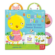Tiny Tabs: Cutie Pie Looks for the Easter Bunny (BOK)