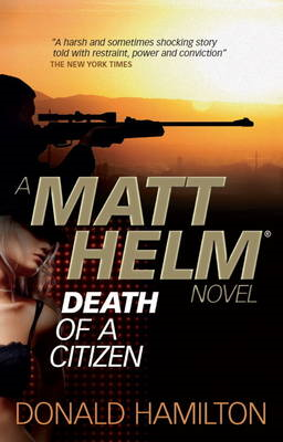 Matt Helm: Death of a Citizen (BOK)