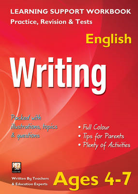 Writing, Ages 4-7 (English): Home Learning, Support for the Curriculum (BOK)
