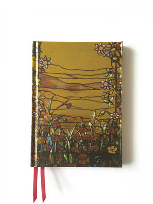 Tiffany Red Flowers and a Stream (Foiled Journal) (BOK)