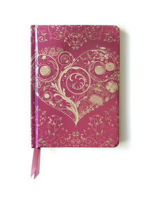 Wild Pink Hearts. (Contemporary Foiled Journal) (BOK)