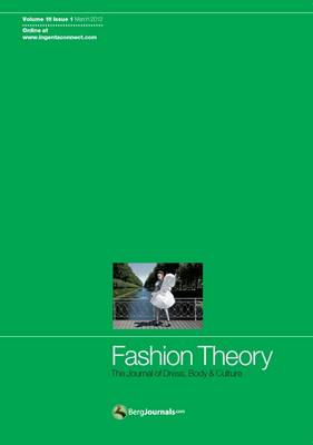 Fashion Theory: The Journal of Dress, Body and Culture: Issue 1 (BOK)