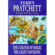 "The First Discworld Novels: ""Colour of Magic"", ""Light Fantastic"" (BOK)"