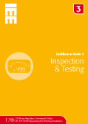Guidance Note 3: Inspection and Testing (BOK)