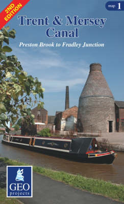 Trent and Mersey Canal: Preston Brook to Fradley Junction: Map 1 (BOK)