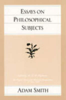 Essays on Philosophical Subjects (BOK)