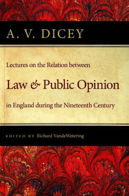 Lectures on the Relation Between Law and Public Opinion (BOK)
