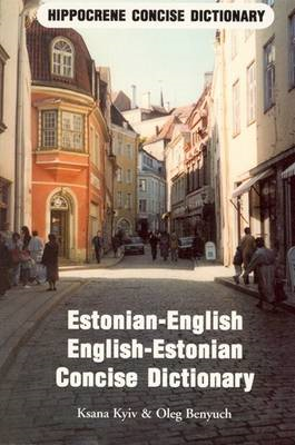Estonian-English, English-Estonian Dictionary (BOK)