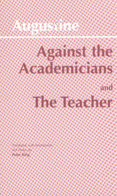 Against the Academicians (BOK)