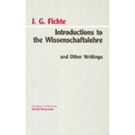 Introductions to Wissenschaftslehre and Other Writings, (1797-1800) (BOK)