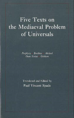 Five Texts on the Medieval Problem of Universals (BOK)