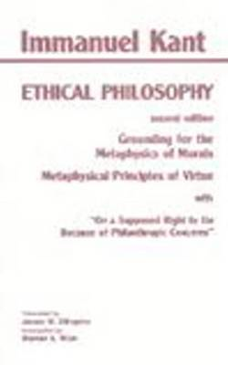 Ethical Philosophy (BOK)