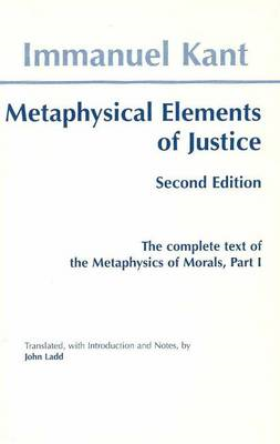 Metaphysical elements of Justice (BOK)