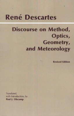 Discourse on Method, Optics, Geometry, and Meteorology (BOK)