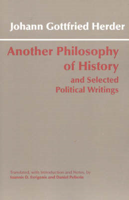 Another Philosophy of History and Selected Political Writing (BOK)