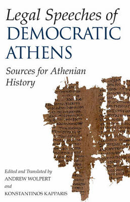 Legal Speeches of Democratic Athens (BOK)