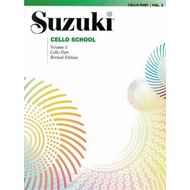 Suzuki Cello School, Vol 3 (BOK)