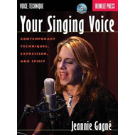 Jeannie Gagne: Your Singing Voice (BOK)