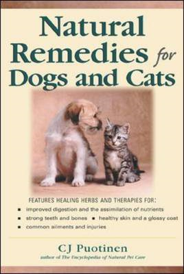 Natural Remedies for Dogs and Cats (BOK)