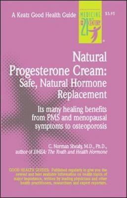 Natural Progesterone Cream: Safe, Natural Hormone Replacement (BOK)