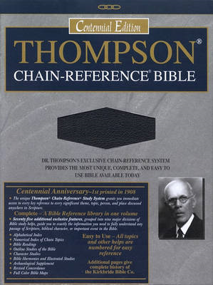 Thompson-Chain Reference Bible-KJV (BOK)