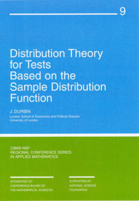 Distribution Theory for Tests Based on Sample Distribution F (BOK)