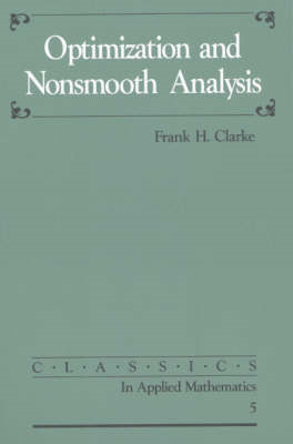 Optimization and Nonsmooth Analysis (BOK)