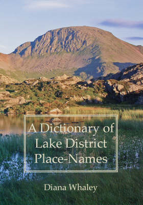 A Dictionary of Lake District Place-names (BOK)