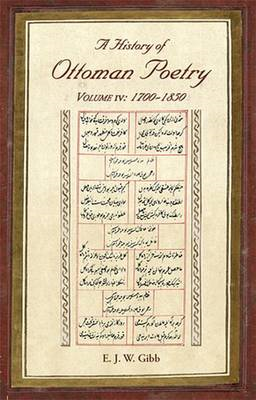 History of Ottoman Poetry Volume IV (BOK)