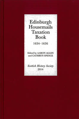 Edinburgh Housemails Taxation Book, 1634-1636 (BOK)