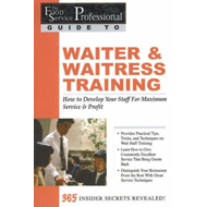 Food Service Professionals Guide to Waiter and Waitress Trai (BOK)