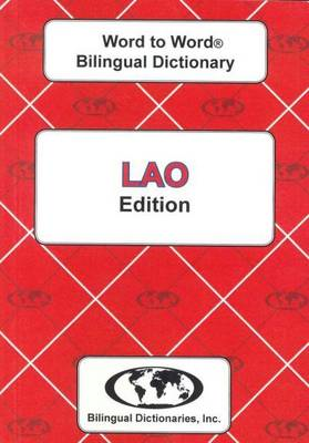 English-Lao & Lao-English Word-to-Word Dictionary (BOK)